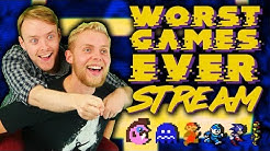 Worst Games Ever Live | TripleJump Launch Stream