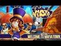 Landing in Mafia Town + Meeting Mustache Girl | A HAT IN TIME #1
