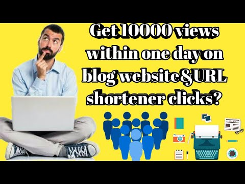 Get unlimited free real traffic for your blogger and wordpress