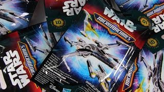 Star Wars Micro Machines Blind Bag Figures The Force Awakens Toy Review | PSToyReviews