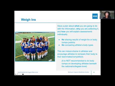 How to Talk (and Not Talk) to Athletes About Weight