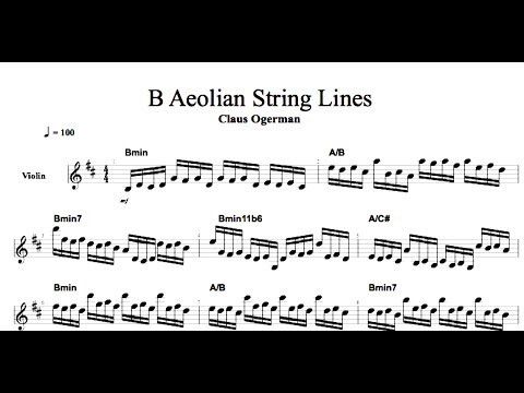 Film Scoring: String Writing of Claus Ogerman