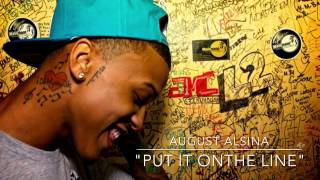 August Alsina — Put it on the line
