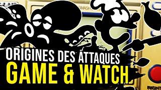 MR. GAME & WATCH : ORIGINES DES ATTAQUES SMASH BROS