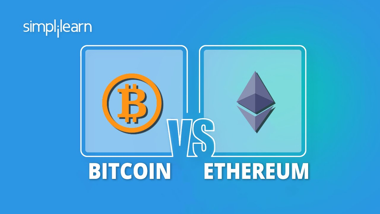 Bitcoin vs Ethereum - Everything You Need to Know | Bitcoin And Ethereum Difference