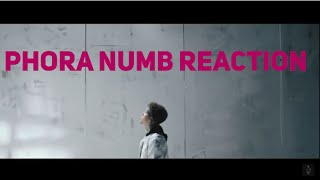 Phora - Numb {Official Music Video} Reaction