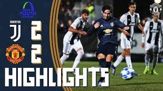 Highlights | Juventus U19 2-2 Manchester United U19 | UEFA Youth League