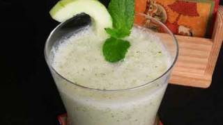 Cool Mint Cucumber Soup Indian Recipe