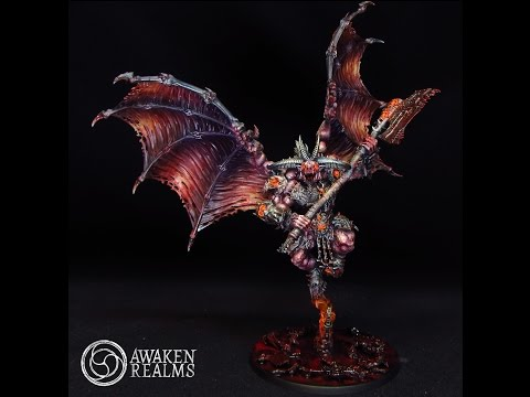 HD Painting tutorial - How to paint new Games Workshop Bloodthirster