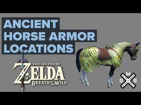 EX Ancient Horse Rumors Walkthrough - Ancient Saddle and Ancient Bridle Locations - Zelda: BotW