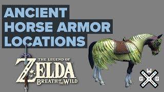 Ex Ancient Horse Rumors Walkthrough Ancient Saddle And Ancient Bridle Locations Zelda Botw Youtube