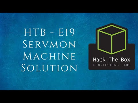 HTB-E19 Servmon Machine Walk-through | Tamil
