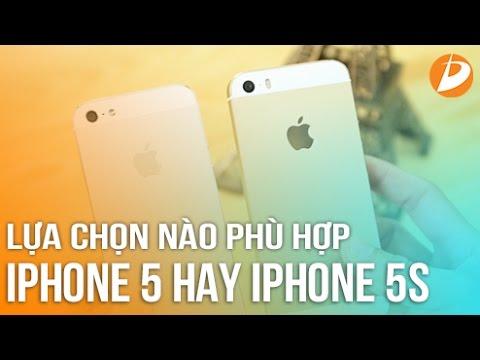 iPhone 5 và iPhone 5S đâu là lựa chọn phù hợp với bạn?