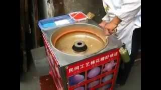 إبداع الصينيين في صنع غزل البنات