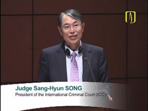 Uniandes - International Criminal Justice - How to Move Forward - Judge Sang-Hyun SONG
