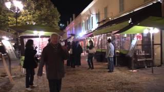 Nice, France Beaujolais Nouveau
