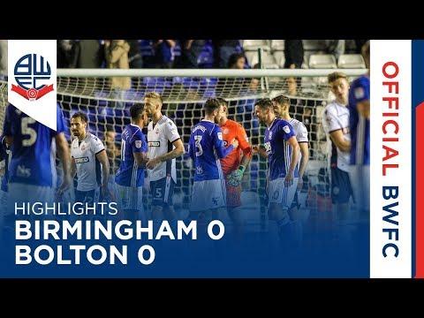 Обзор матча «Бирмингем Сити» — «Болтон Уондерерс»