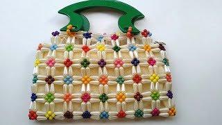 How to Make Crystal /Beaded Purse||Handbag||Clutch | Nomi.Namita crafts |