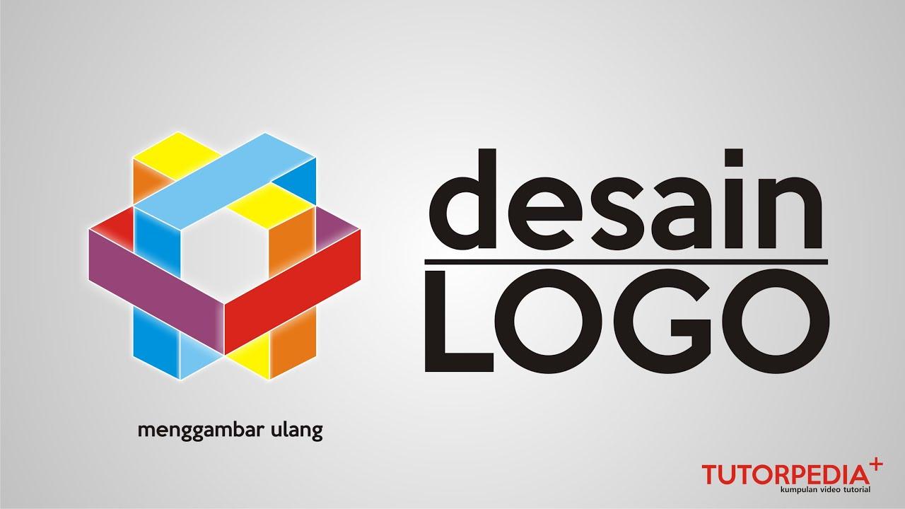 demo desain logo 1 tutorial corel draw mudah dan cepat re drawing idea