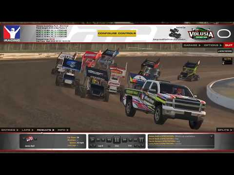iRacing World of Outlaws Sprint Cars: March 25, 2020 (Volusia Speedway Park)