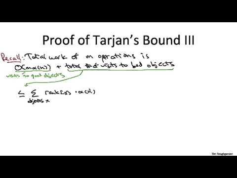 8   9   Path Compression  Tarjan