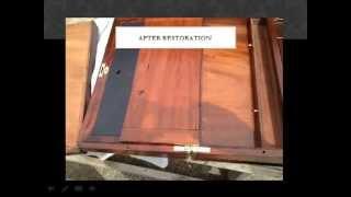 Chicago Area Antique Lap Desk Restoration By Karzen Restoration