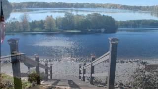 Pristine Vintage Log Home on Beautiful Pratt Lake