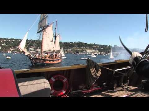 Make-A-Wish Pirate Commands the HMS Interceptor a k a Lady Washington