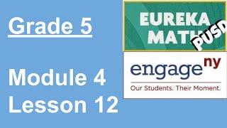 EngageNY Grade 5 Module 4 Lesson 12