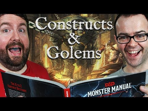 Constructs & Golems in 5e Dungeons & Dragons - Web DM Dungeon Monsters