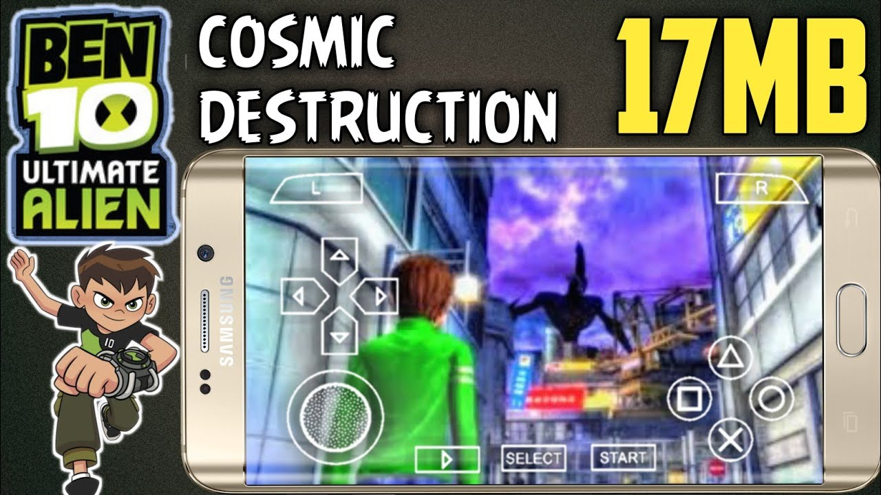 Ben 10 ultimate alien cosmic destruction ppsspp download for