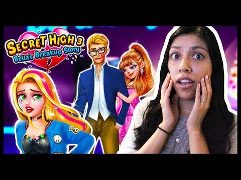 SECRET HIGH SCHOOL LOVE STORY 3: Bella's Breakup Story! - App Game