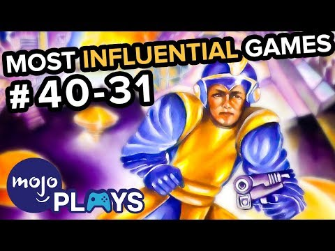 50 Most Influential Video Games - #40-31