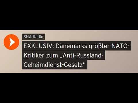 """Dänemarks größter NATO-Kritiker zum """"Anti-Russland-Geheimdienst-Gesetz"""" (Sputniknews)"""