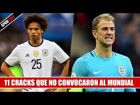 11 Cracks que NO CONVOCARON al Mundial de Rusia