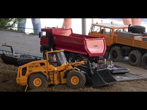 rc trucks show in dorog by hrct rc excavator and rc wheel. Black Bedroom Furniture Sets. Home Design Ideas