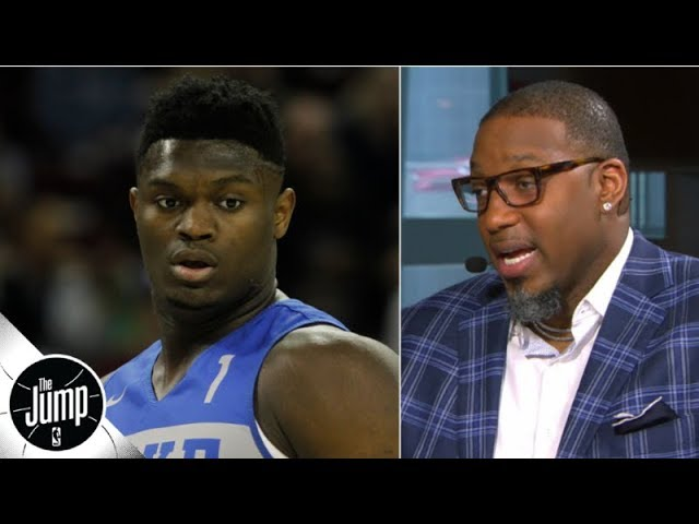 Tracy McGrady concerned about Zion Williamsons size: Hell have to drop some weight   The Jump