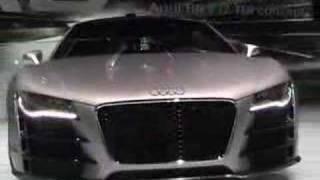 Audi R8 V12 TDI Concept Pics Videos