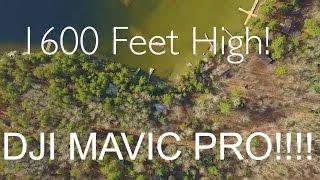DJI Mavi Pro Maximum Height at the Cottage!!