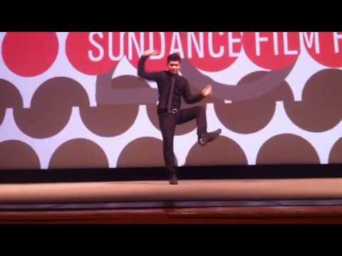 Iko Uwais Demonstration - The Raid 2 Premiere at Sundance