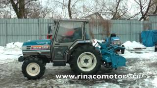 ИСЕКИ TG33DT - 000917  Видео обзор японского мини трактора.