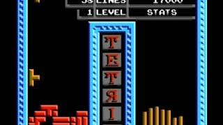 Tetris (The Soviet Mind Game) (Tengen - NES) Gameplay