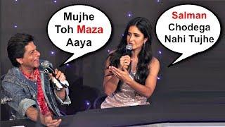 Katrina Kaif And Shahrukh Khan Reaction On Kiss In Zero Trailer