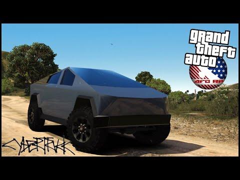 GTA 5 ROLEPLAY - TEST DRIVING TESLA CYBERTRUCK!! - EP. 848 - AFG - CIV
