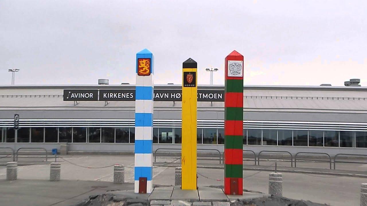 Парковка в аэропорту киркенеса