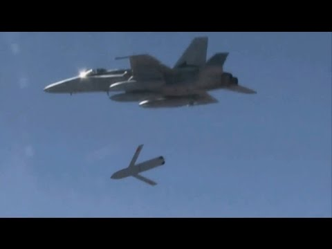 US Navy F/A-18 Fighter has successfully tested the LRASM anti ship missile