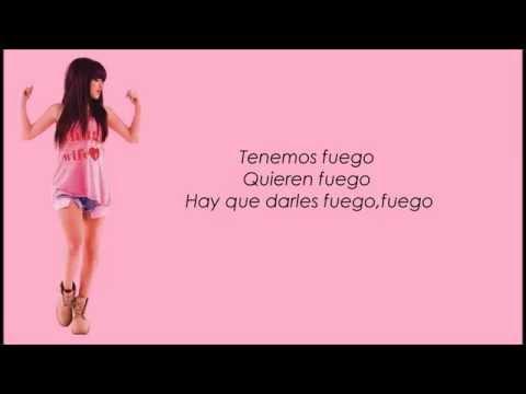 Becky G Feat Pitbull-Can't Get Enough Spanish Version (Lyrics)