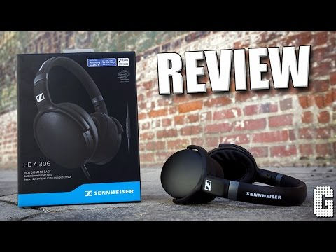 INSANE BASS!!!! : Sennheiser HD 4.30 Headphone REVIEW