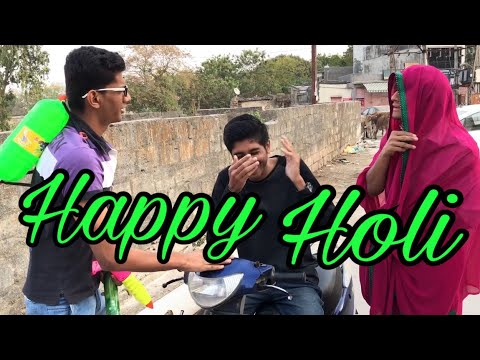 Types of people in holi || dhaval domadiya