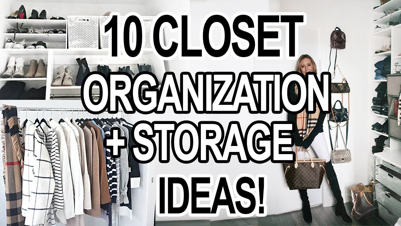 10 Small Closet Organization Storage Ideas